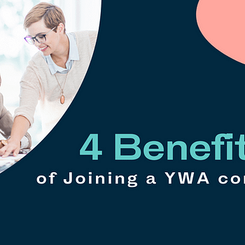Title card: 4 Benefits of Joining a YWA Committee